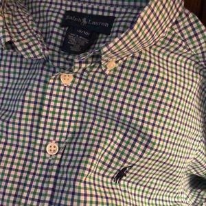 Boys Polo Button-down Shirt